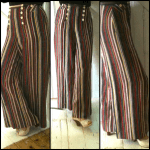 Wide 30's style trousers made from my french knicker pattern